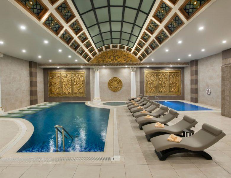 Sağlıklı Yüzme ve Kaplıca Havuzları